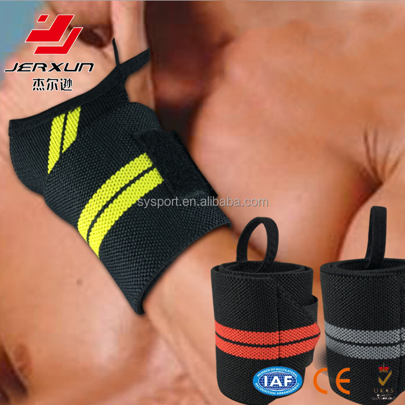 Weight lifting wrap Band High quality Body Building Wrist Wraps with custom wrist support
