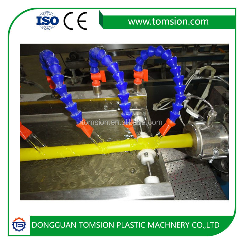 SBS/TPE/TPU/TPR rubber bands making extrusion line