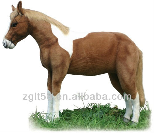 Artificial outdoor robotic life size horse for sale
