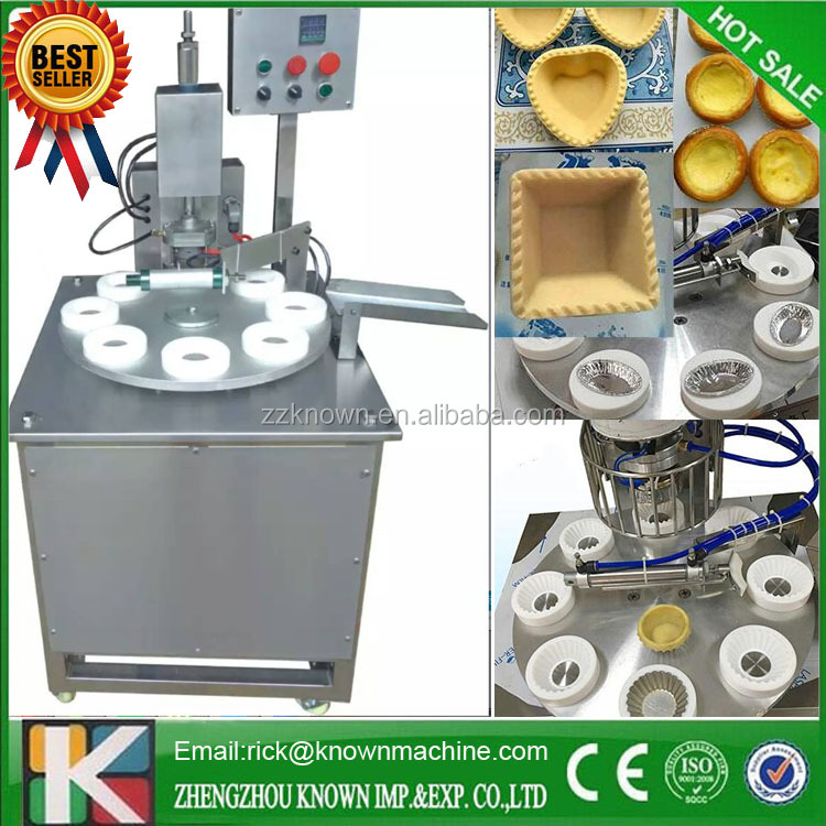 Factory Price CE Approval Cookies/Egg Tart Skin Forming Machine
