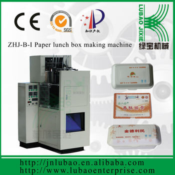 Eco Friendly Food Catering Boxes Folding Machine - Buy Eco-friendly  Disposable Paper Food Container Making Machine,Fold Box Glue  Machine,Automatic