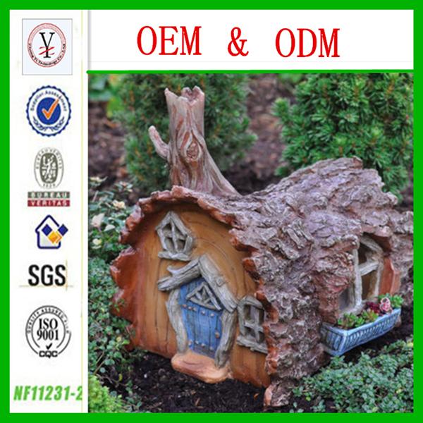 anao de jardim resumo:Personalizada de fábrica OEM / ODM de resina de fadas house garden