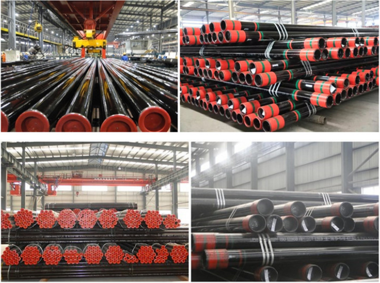 API 5CT J55/K55/L80 R1/R2/R3 Lenght good quality oil casing pipe and tubing for oil and gas industry with factory price