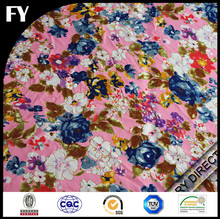 Custom digital printed cotton floral fabric with your own designs