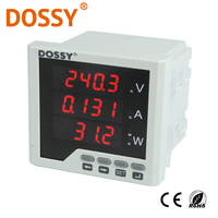 Three Phase Digital Ammeter And Voltmeter