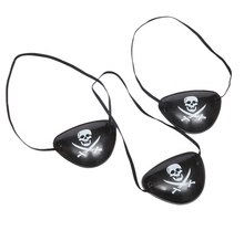 Cosplay <span class=keywords><strong>Spiel</strong></span> Kunststoff Pirate Eye Patch <span class=keywords><strong>Requisiten</strong></span> Für Party Halloween
