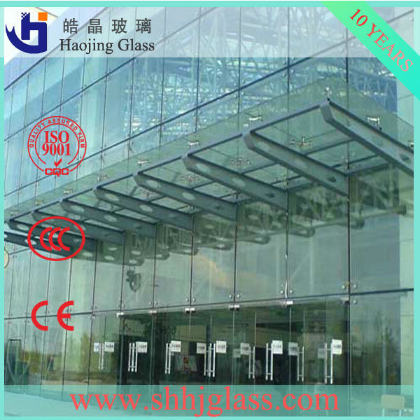 laminated glass wind shields plus tempered glass for doors