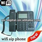 wifi sip desk phone 4 lines,4 line cordless phone 4 lines business phone voip wifi telephones