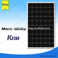 Made in China electrical solar panels with ISO9001:2008