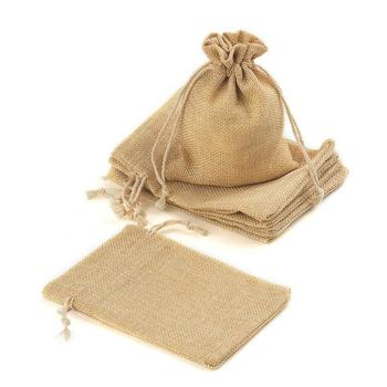 fashion jute drawstring burlap bags wholesale