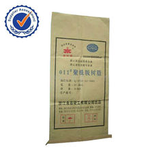 plastic lined kraft paper bag