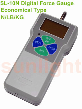 Economical Digital Push and Pull Force Tester, 10N/1Kg/2.2Lb SL-10N