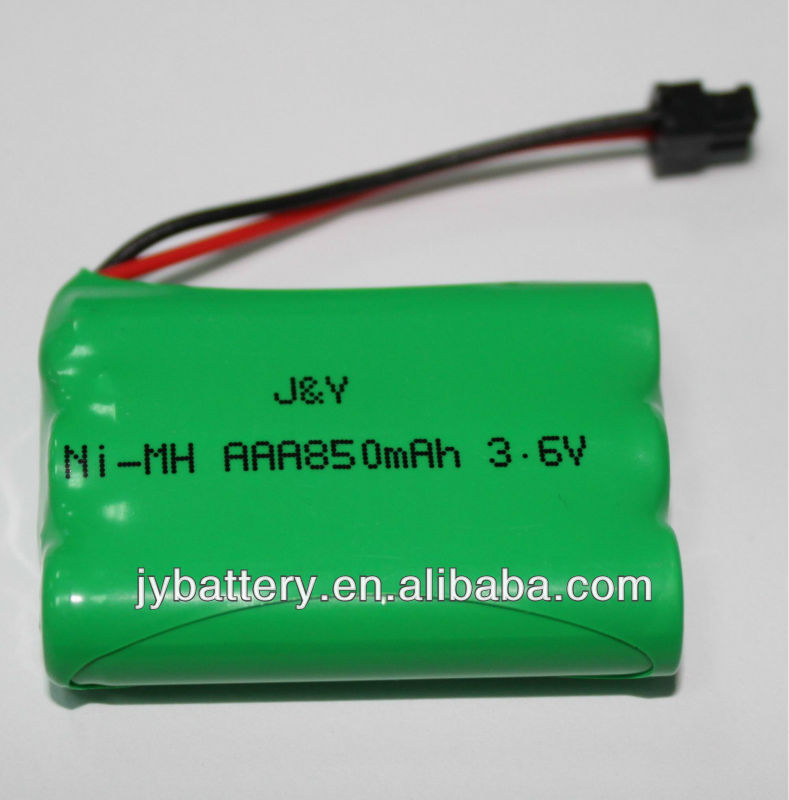 nimh aaa 850mAH 3.6v cordless phone replacement battery available