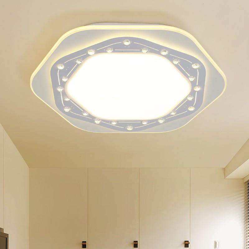 nueva llegada creativa geometra forma led luces de techo para el dormitorio moderno accesorio de iluminacin