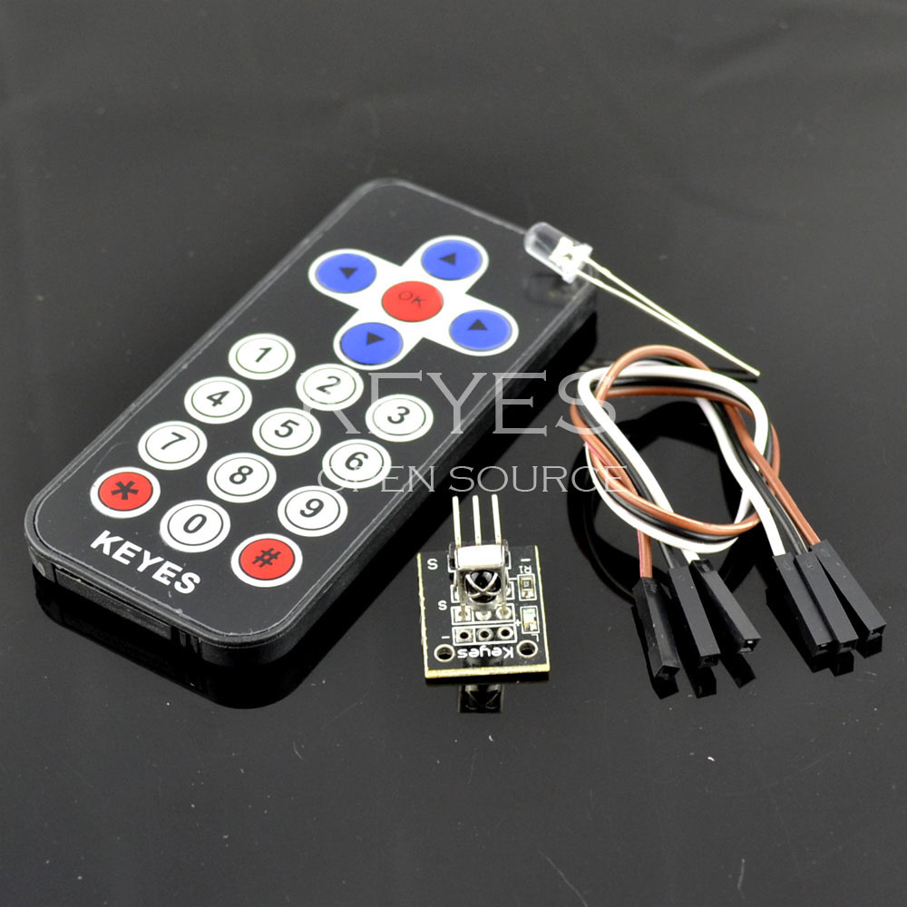 Latest infrared wireless remote control kit for arduino