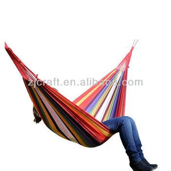 colorful cotton canvas hammock bedroom rainbow hammock buy china