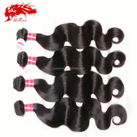 Wholesale 6A Brazilian Body Wave Hair With Closure 100% Virgin Brazilian Hair Cheap Brazilian Virgin Hair