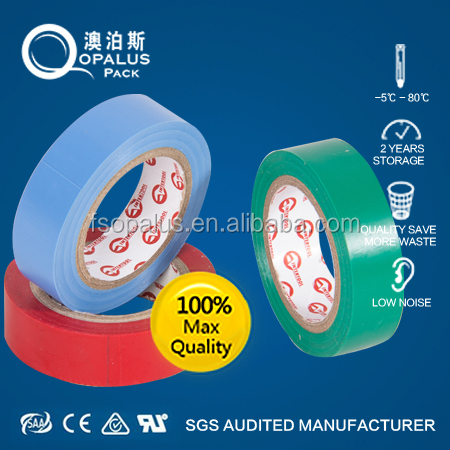 PVC Material and heat-resistant electrical insulating tape