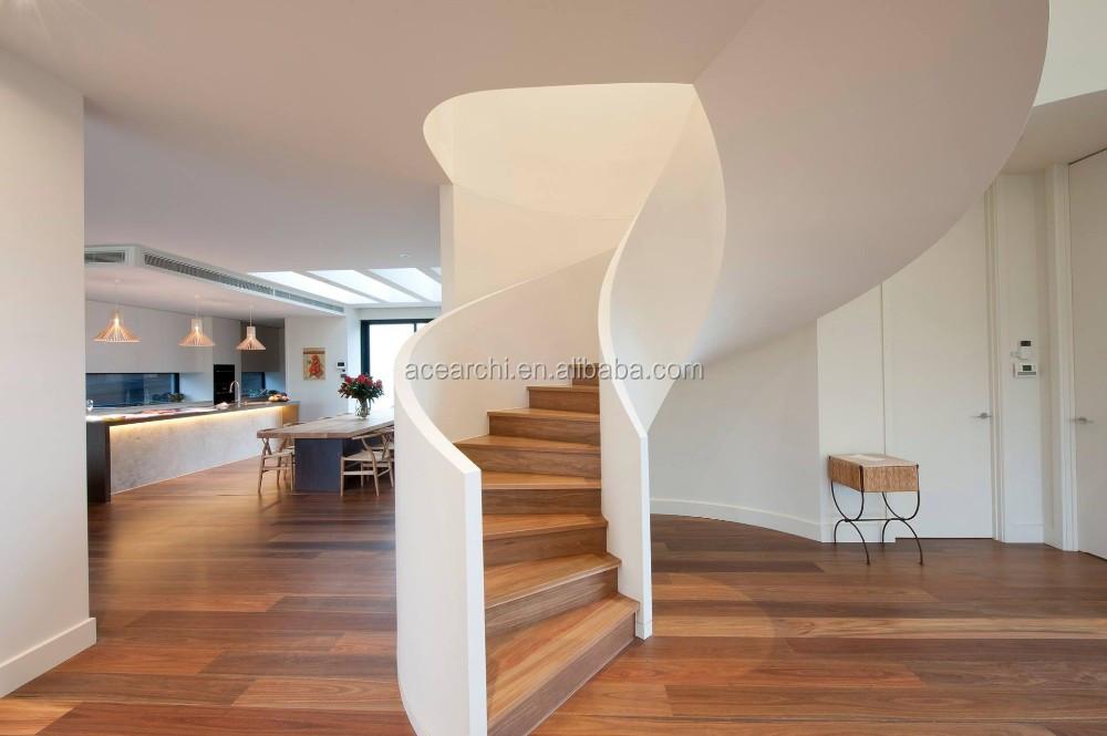 Beste koop decoratieve indoor gebruikt houten trappen voor art