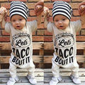 Toddler Kids Baby Boy Girl Warm Infant Jumpsuit Romper Cotton Clothes 0 18Months
