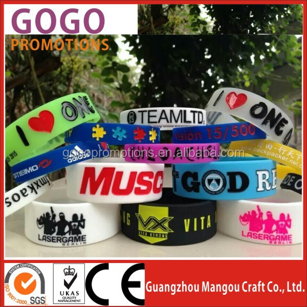 Custom wristbands bulk