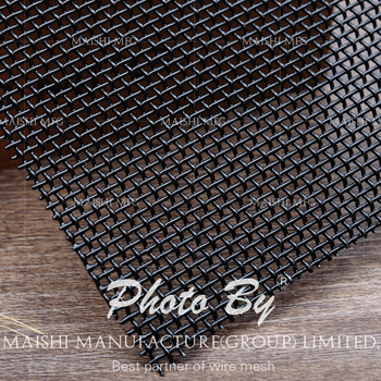 Corrosion Resistance 316 Marine Grade Stainless Steel Mesh For Security Screen