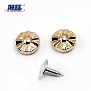 Metal jeans button rivets and eyelets for shoes