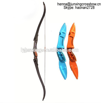 F117 Junxing Archery World Top Sell Outdoor Game Limbs and Riser Recurve Bow Set