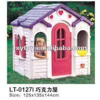 plastic toys children play house,(LT-0127H)