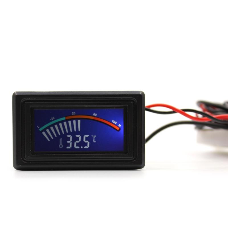 LCD Celsius//Fahrenheit C//F Digital Thermometer Temperature Meter Gauge Hot Sale