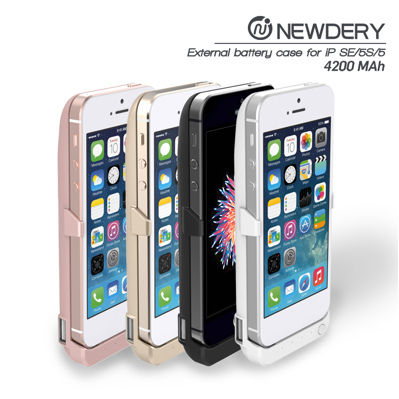 ultra slim handy power case for iphone 5 backup power bank for iphone 5s with 4200mah capacity