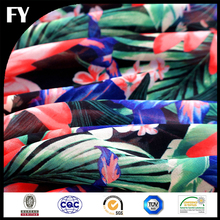 Custom Digital Print 100% Polyester Fabric Textiles