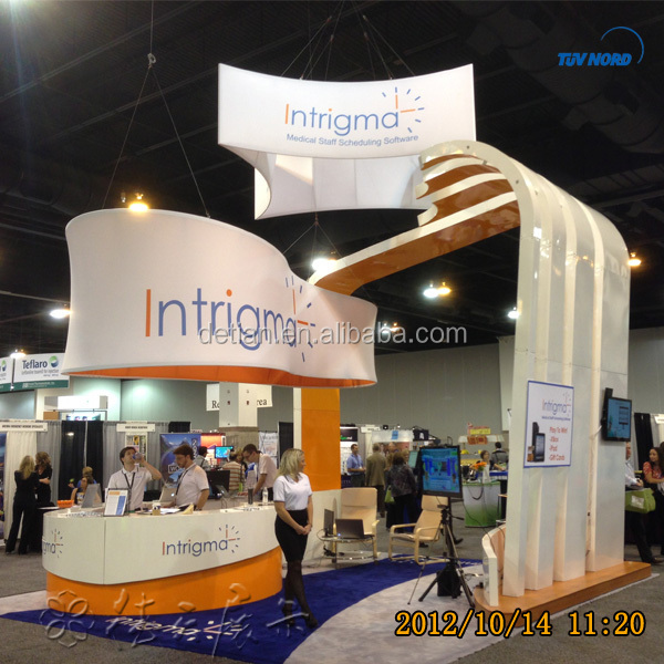 3mx6m Modular Shoes Exhibition Booth Shoes Trade Show