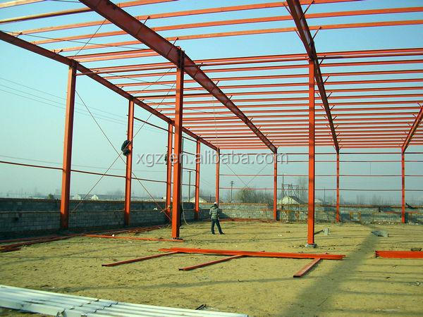 Large Space Prefabricated School Steel Building