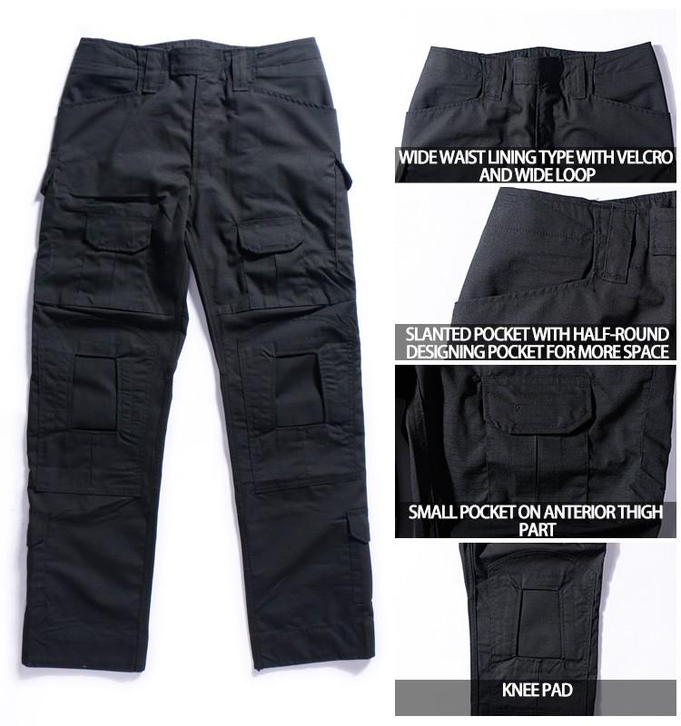 Hot Sale Combat Tactical Breathable Men Black Camo Pants - Buy Black ... ec9d7a712bb