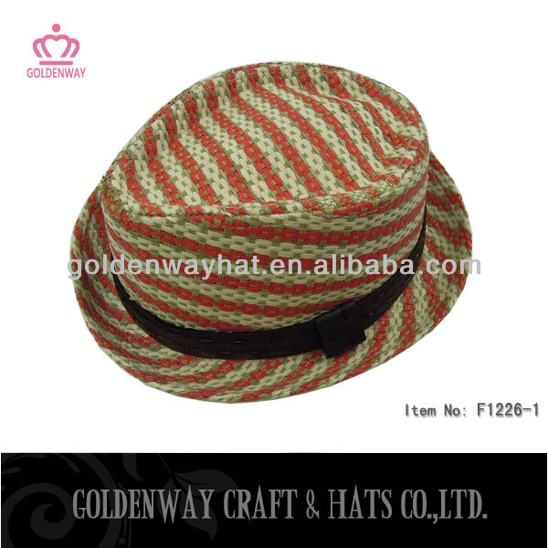 new arrival paper straw hat for decoration professional factory supply