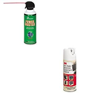 KITMMMCL600NSN3982473 - Value Kit - NIB - NISH 7930013982473 Power Duster (NSN3982473) and 3m Antistatic Electronic Equipment Cleaner (MMMCL600)