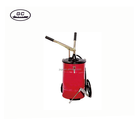 Best selling good quality grease bucket pump/20kg hand grease pump/hand operated bucket grease