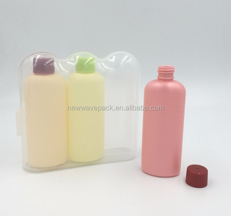 100ml 3oz travel shampoo bottle