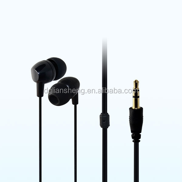 MP3 plastic earbuds, earphone mini earbuds for small earbuds, easy carry earphone