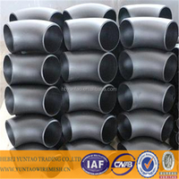 material st37.0, st35.8, st45.8 carbon steel butt-weld fitting/bw pipe fitting by yuntao trading company