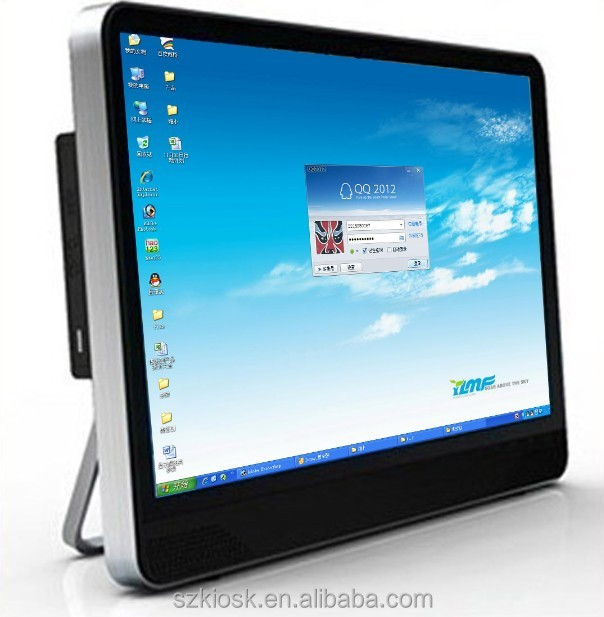 19 inch lcd display cheap touch all in one pc