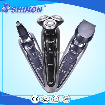 New 3 In 1 Triple Blade Nose Trimmer Shaver Men Shaving Kit Wholesale - Buy  Shaving Kit Wholesale,Rechargeable Trimmer Shaver,Nose Hair Shaver Product
