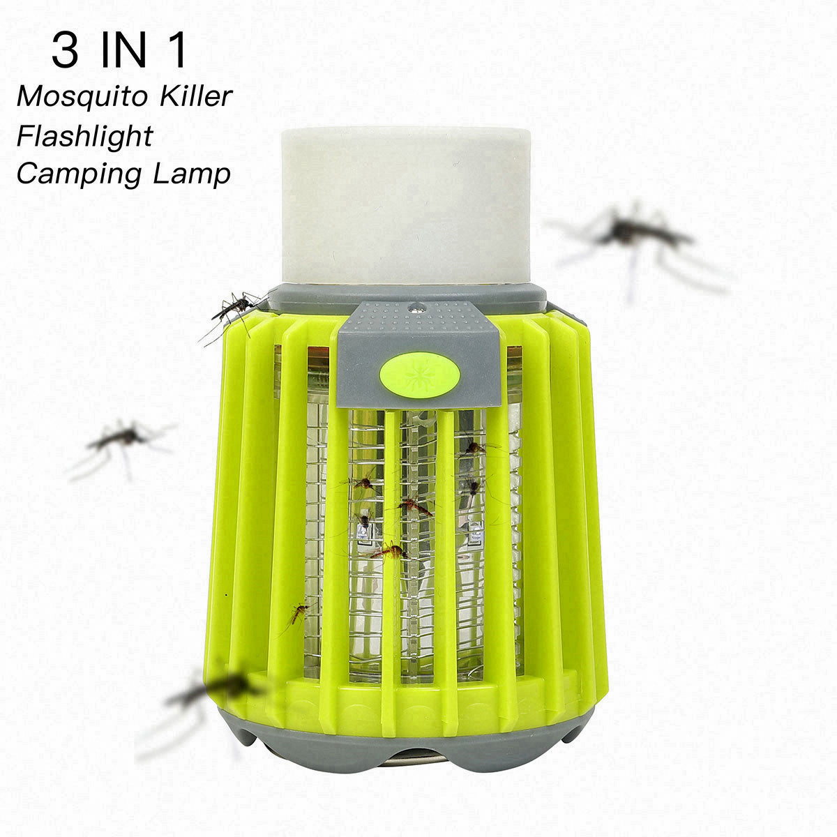 Repellents 2019 Usb Led Electric Mosquito Killer Lamp Insect Trap Bug Fly Catcher Non-toxic Chemical-free No Radiation Pest Control Skillful Manufacture