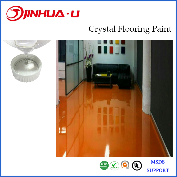 Amazing 3D Epoxy Two Part AB Liquid Gloss Resin For Art Exhibition Hall