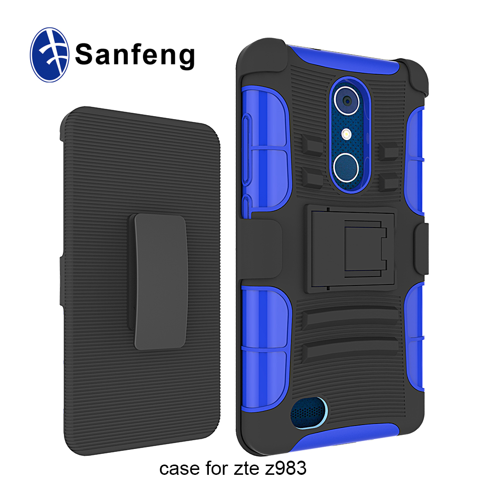 Fashion Sport Cell Phone Case for ZTE Blade X <strong>Max</strong>,for ZTE Z983 Super Shockproof Belt Clip Cover Case