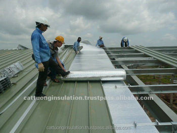 Reflective Aluminum Bubble Foil Insulation For Roofing