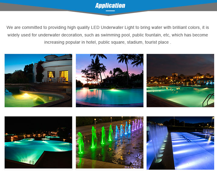Waterproof IP68 12V RGB 18W 24W 35W Par 56 Lights Underwater Lamp Par56 Led Swimming Pool Light with remote