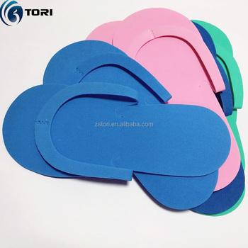 dda4d1dae4d1 Disposable Slippers Soft Flip Flop Foam Slipper For Pedicure Salon Foot Spas  Foot Care Tool