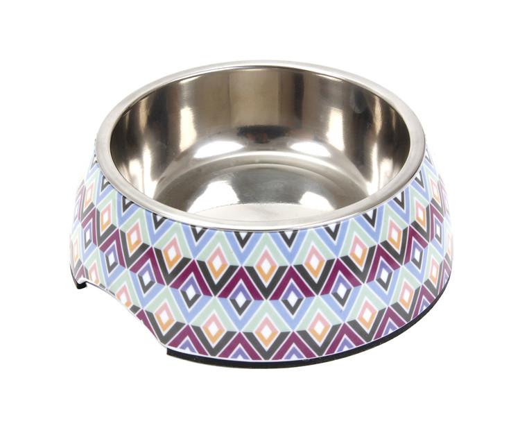 Wholesale Custom Stainless Steel Plastic Melamine Small Dog Bowl For Pets